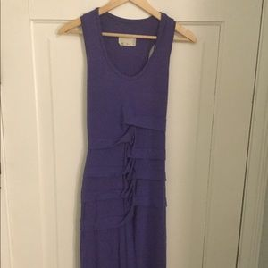 Body on maxi dress with slit